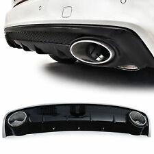 Heckdiffusor Diffusor mit Endrohren Sport Optik für Audi A4 B8 Facelift 11-15