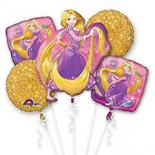 Disney Rapunzel Tangled Birthday Party Supplies Mylar Foil (5ct) Bouquet Balloon