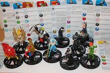 Heroclix Flash Completa 10 Figura Gravity Feed Gf Mostrador CTD Set 201-210