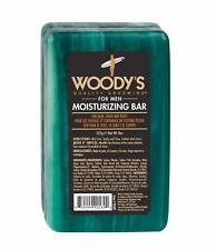 Woody's Moisturizing Soap Bar for Men 8 oz Lather Barber Body Shave