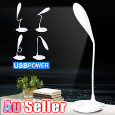 3-Level AU/Adjustable USB Rechargeable Touch Sensor LED Reading Light Desk Lamp