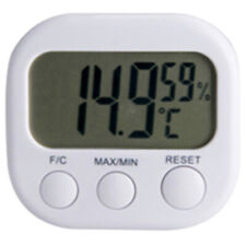 New Indoor Room LCD Electronic Meter Gauge Digital Thermometer HygrometeO_dr