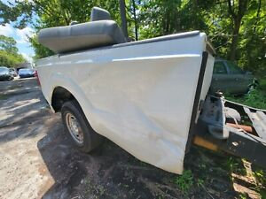 2011-2016 FORD F250 F350 8' TRUCK BED BOX 8 FOOT LONG WHITE