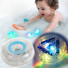 Kids Baby LED Light Toys In Tub Bath Color Changing Bathroom Toy Gift