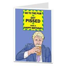 Funny Birthday Card For Men & Women Lockdown Pub Design