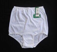 CAROLE 100% Cotton Full-Cut Hi Waist White Brief Size 4/XS