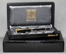 "PELIKAN M 800 Fountain Pen with 18K 750 Gold Nib ""M"" Swiss Indoors Roger Federer"