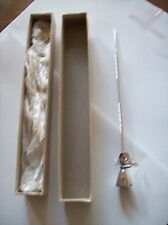 Angel Candle Sniffer Rhodium Plated Still In The Box