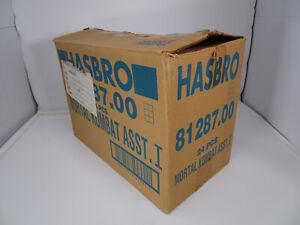 Mortal Kombat Movie Edition 1994 Action Figure Hasbro Shipper Carton Rare