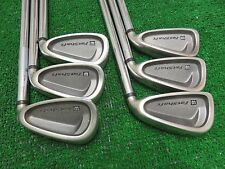 WILSON FAT SHAFT III IRON SET 5-PW GOLF CLUBS STIOFF STEEL RH RIGHT HANDED