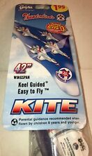 "Vintage 1984 Gayla Thunderbirds Keel Guided Kite 42"" Wing Span # 172 SEALED"