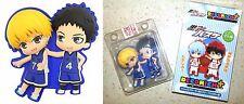 Kuroko's Basketball DECO RICH+ Brooch Ryota Kise & Yukio Kasamatsu Licensed New