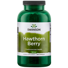 Swanson Hawthorn Berries Supplement | Supports Blood Pressure & Heart Health ...