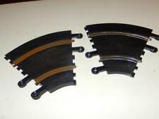 """SCALEXTRIC -2- 1/2"""" CURVED TRACK SECTIONS #00678- 1/32ND - APPROX 5""""  -EXC- L202"""