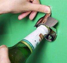 1 x Abridor Botella de Cerveza Abrelata Acero Inoxidable Para Colgar de Pared