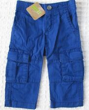 NEW Crazy 8 Baby Toddler Boys 18-24 mos Blue Cotton Cargo Pants