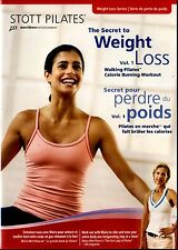 STOTT PILATES: The Secret to Weight Loss Volume 1// DVD IS NEW WITHOUT SHRINKWR
