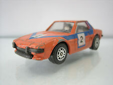 Diecast Corgi Fiat X1/9 Orange Good Condition