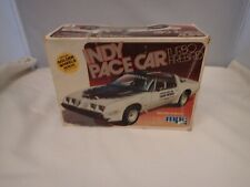 INDY PACE CAR TURBO FIREBIRD MPC 1:25 SCALE SKILL 2 VINTAGE PLASTIC MODEL KIT