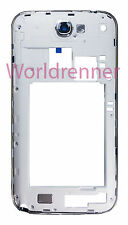 Carcasa Medio W Chasis Middle Frame Cover Bezel Back Samsung Galaxy Note 2 N7105