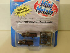 MINI-METALS ** '54 F-350 UTILITY TRUCKS * PENNSYLVANIA RR ** CLM * N Scale *NEW*