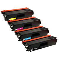 4 Pack Toner Cartridge for Brother TN331 HL-L8250CDN MFC-L8600CDW MFC-L8650CDW