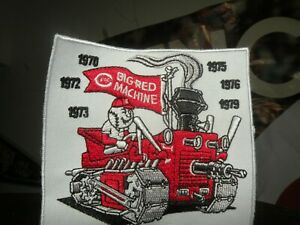 CINCINNATI REDS 1970-79  Big Red machine patch