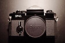 SUPER MINT+++ Canon F-1 35mm SLR Film Camera Body Works Great!