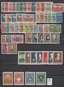 Austria 1920 - 1949 Page of MH / MNH Semi Postal Sets CV $130.65