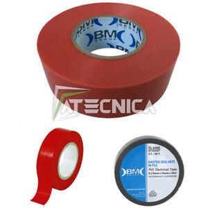 Cinta Aislante Para Electricistas Profesional Bm beta ESB1510 Rojo 15mm x10mt