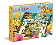 NEU/OVP Clementoni E-Lektor Quiz Die Biene Maja 69219 Lernspiel Kinderspiel