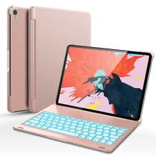 2018 Aluminum Bluetooth Backlit Keyboard Case Smart Cover For iPad Pro 11 Inch