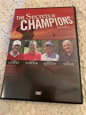 The Secrets Of Champions, Gibby Gilbert, Tom Purtzer, Dana Quigley, JC Snead,DVD