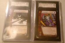VS System Card Game Spider-Man ALIEN SYMBIOTE & JOKER SGC Graded GEM Upper Deck