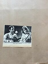H1-1 ephemera 1967 picture folk duo mike peggy seeger bbc tonight in person