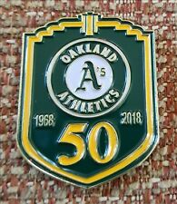OAKLAND A's 50 Years in OAKLAND Lapel Pin - 1968-2018