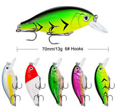 4PCS Fishing Lure Hard Bait 7cm/13g Minnow Crankbait Wobblers Peche Bass Swim