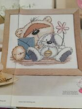 Fizzy Moon with Bunny Cross Stitch Chart