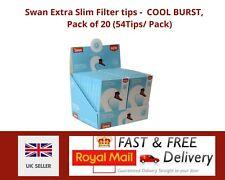 Swan Crushball Cool Burst Extra Slim 54 Capsule Filter Tips