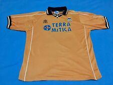 CAMISETA VALENCIA C.F. NARANJA LUANVI TERRA MITICA 1999-2000 FUTBOL