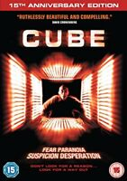 Cube - 15th Anniversary Edition [1997] [Blu-ray] [DVD][Region 2]