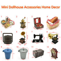 Mini Dollhouse Accessories Home Decor Kitchen Food Furniture Antique Gift Toy