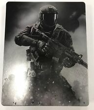 Call Of Duty Infinite Warfare Steel Book Game Case  + S.C.A.R Keyring (New)