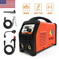 Hitbox Arc Stick Tig 3in1 Welder 110v220v Dual Voltage Mma Welding Machine Igbt