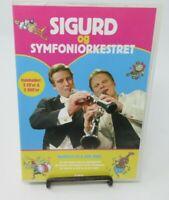 SIGURD BARRETT: SIGURD & SYMPHONY ORCHESTRA 1 & 2, 4-DISC CD/DVD SET, REGION 2