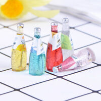5Pcs 1/12 Miniature food mini fruit drink model for dollhouse kitchen toys HK