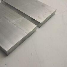 "New listing 1.25"" x 8"" Aluminum 6061 Flat Bar 21.5"" Long new mill stock Qty 2 sku A704"