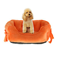 MagiDeal Pet Cat Dog Soft Warm Nest Kennel Bed Cave House Sleeping Bag Mat