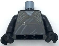 Lego New Minifigure Black Torso Ninjago Wrap with Shoulder Armor and Belts Cole