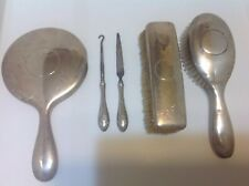 Antique RW & S Wallace Sterling Silver Vanity Set Original Great Condition